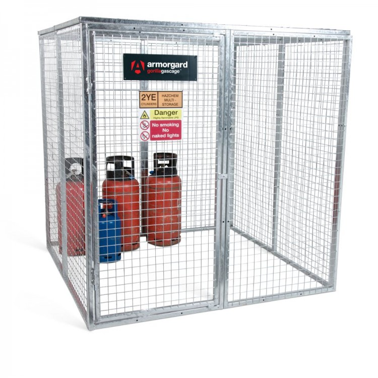 Gas Storage Cages