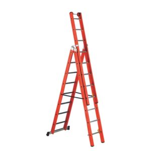 Premium Glass Fibre 3 Way Combination Ladder