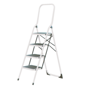Folding Steps with High Back