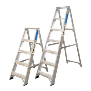 Climb-It Aluminium Swingback Stepladders