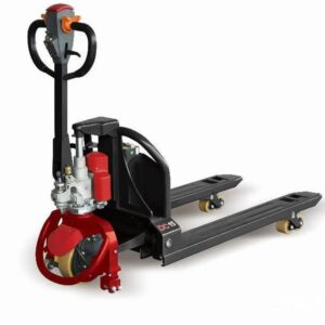 0009608 fully powered pallet truck with lithium battery 870