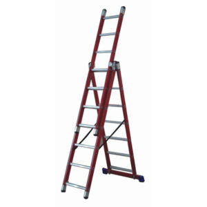Glass Fibre 3 Way Combination Ladder