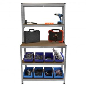 workbench shelving unit